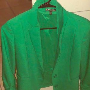 Chic Green Blazer